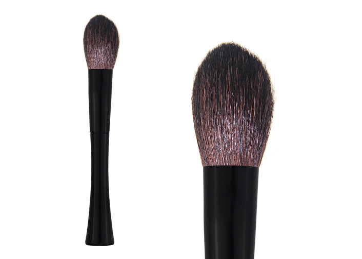 Black Small Face Contour Blush Brush Synthetic Hair Makeup Brushes