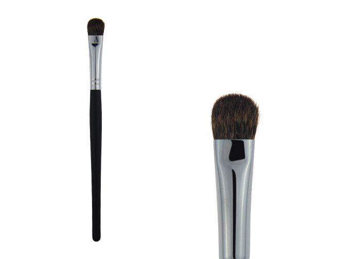Tapered Boar Bristle Eyeshadow Blending Brush For Eye Makeup , Synthetic Hair