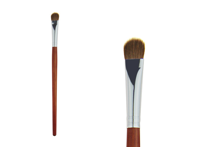 Professional Travel Flat Synthetic Eyeshadow Brush / Blend Makeup Brush Face