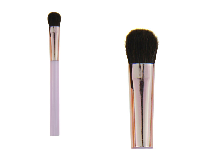 Colorful Face Eyeshadow Blending Brush / Eye Blender Brush , Synthetic Hair