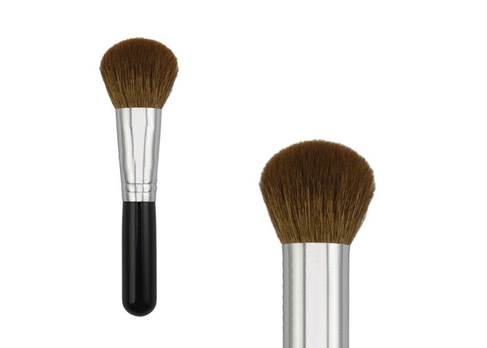 Short Handle Synthetic Bronzer Kabuki Makeup Brush For Powder Foundation