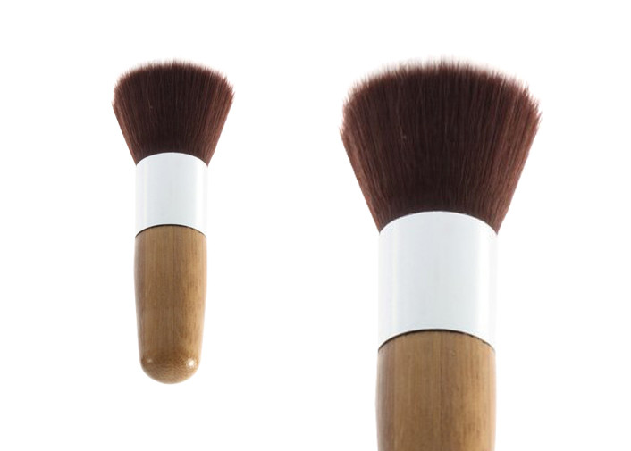 Cosmetic Flat Top Buffer Makeup Brush Foundation Powder Brush For Home / Salon